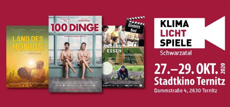 Klimalichtspiele Schwarzatal <br>27.-29. Oktober 2020 · Stadtkino Ternitz