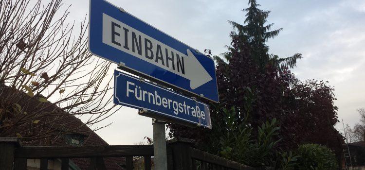 Einbahn Fürnbergstraße – Radfahren wird in Melk immer gefährlicher und unattraktiver