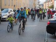 Krems: Zweite Radparade durch die Stadt