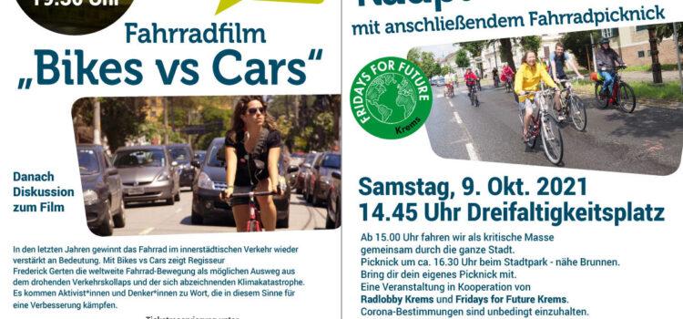 Krems: Vorschau auf September und Oktober