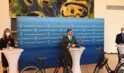 """Niederösterreich will zum Vorzeigeprojekt für """"Aktive Mobilität"""" werden. <br>Pressekonferenz LR Ludwig Schleritzko · 15. März 2021"""
