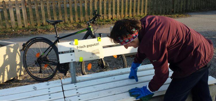 Radlobby Melk ist mit einer Schmutzkübelkampagne in den Frühling gestartet.