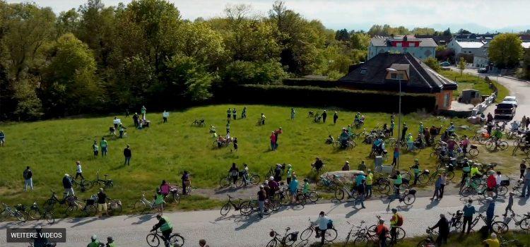 Radtour zu 7 leeren Politik-Versprechen war ein voller Erfolg <br>Über 300 Teilnehmer.innen!