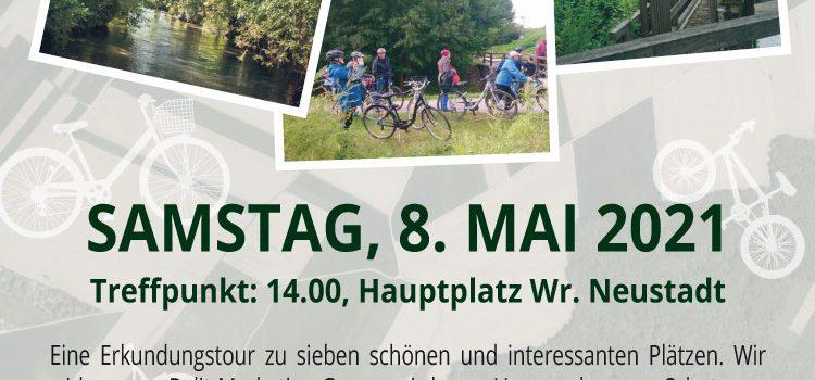 Wiener Neustadt • Samstag, 8. Mai 2021 <br>Radtour zu 7 leeren Politik-Versprechen