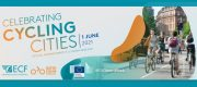 Einladung zum Meeting: <br>Celebrating Cycling Cities: Sharing Europe's Best Practices <br> Di., 1. Juni 2021 · 15-17 Uhr