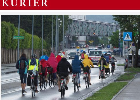 Krems: 1. Radparade Presseberichte