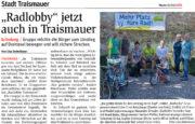 NÖN – Vorstellung der neuen Radlobby Gruppe in Traismauer