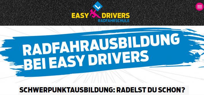 Easy Drivers: Schwerpunktausbildung: Radelst du schon?