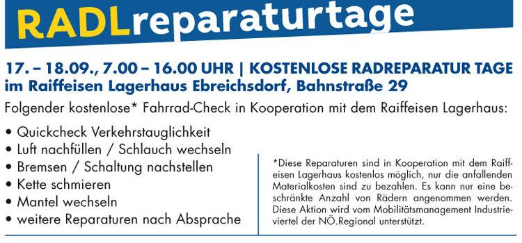 Ebreichsdorf – Radlobby Transport-Radanhänger in der Mobilitätswoche 2021