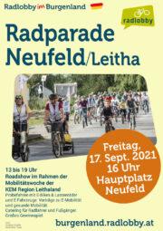 Radparade Neufeld an der Leitha · Fr. 17. Sept. 2021