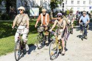 Radfahren macht schön! 20er Jahre-Schick beim 7. Tweedride/Radcorso Melk
