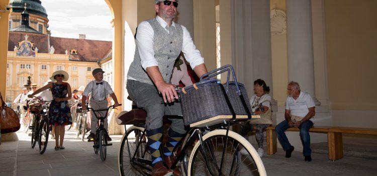 Sa. 5. Mai 2018, 14 Uhr:<br>Radeln Sie mit! – beim 5. Melker Tweedride/Radcorso!