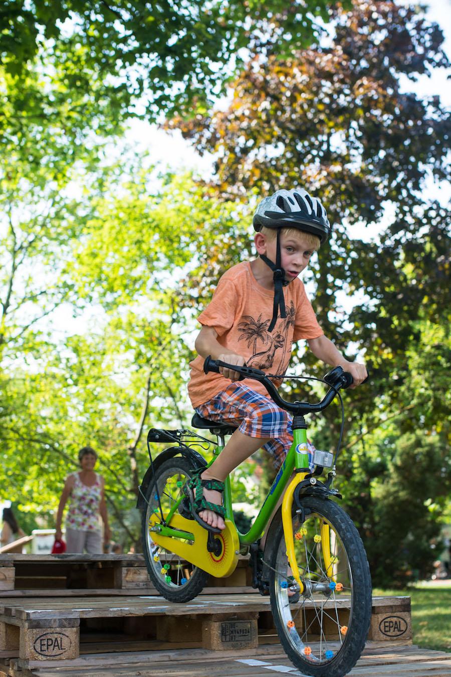 fahrrad pakour für kinder