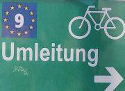 Umleitung Eurovelo 9