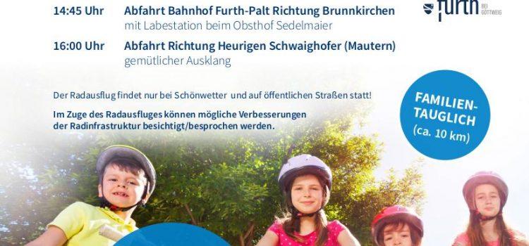 Europäische Mobilitätswoche: ARGE Radregion KremsSüd/Mautern/Furth initiiert Radausflug