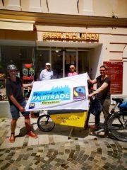 FAIRTRADE in Melk: Mit dem Fahrrad für Menschenrechte und fairen Handel