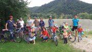 Wetterglück bei Fahrradpicknick