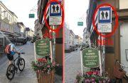 Krems: Radfahren in der Fußgängerzone erweitert