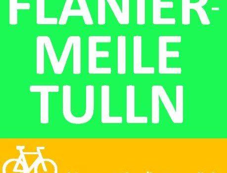 "Radlobby Tulln für ""Flaniermeile"" am Treppelweg"