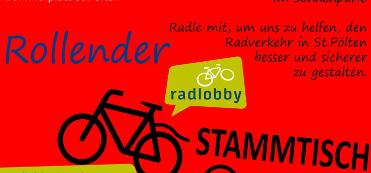 Rollender Radlobby Stammtisch in St.Pölten