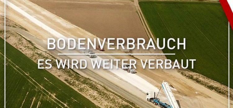 Hagelversicherung: <br>Bodenverbrauch, es wird weiter verbaut