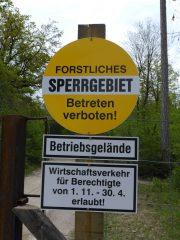 Rad- und Freizeitweg Hochleithenwald