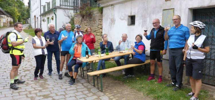 Radtour durch die Dörfer ohne Rauchfang