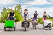 KlimaEntLaster Infotour in NÖ unterwegs<br>Transporträder gleich vor Ort testen!