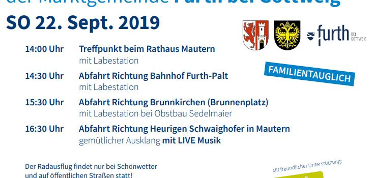 Krems Mautern Göttweig | Radausflug Mautern – Furth – Brunnkirchen <br>Mobilitätswoche Teil 3