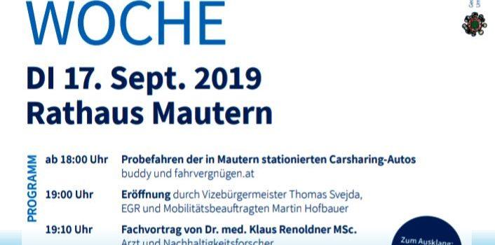 Krems Mautern an der Donau | Eröffnung der Europäischen Mobilitätswoche<br>Mobilitätswoche Teil 2