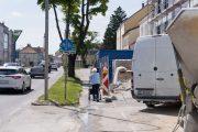 Baustelle Eduard-Röschstraße