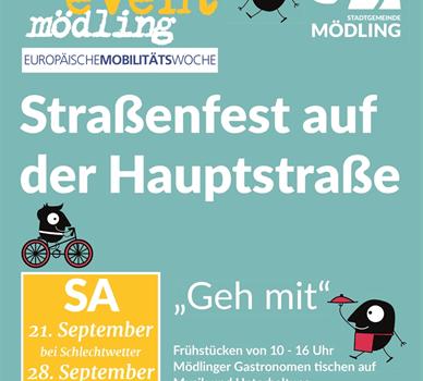 Street-Event Mödling am Samstag, 21. 9. 2019 (mit Radlobby-Infostand)