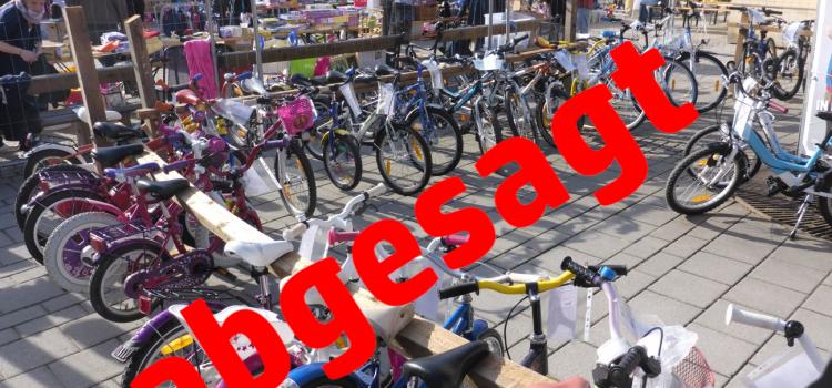 Fahrradbörse der Radlobby Melk leider abgesagt
