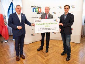 Radverkehrsoffensive Wiener Neustadt: Konzeptloser Fleckerlteppich