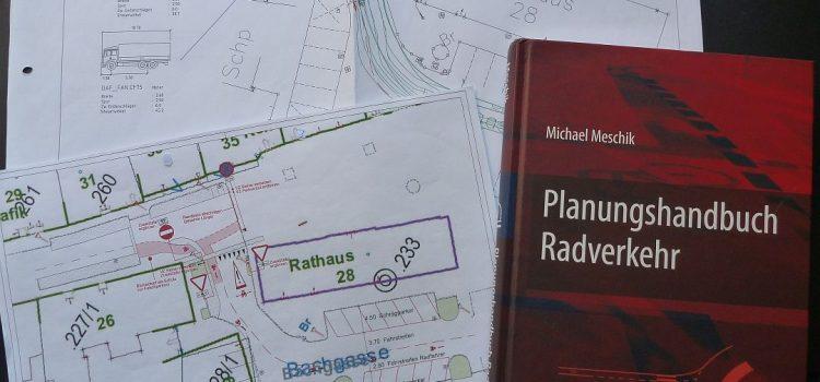 16. Mai: Wolkersdorf<br>Vortrag Prof. Dipl.-Ing. Dr. Michael Meschik<br>Radverkehr & Radinfrastruktur