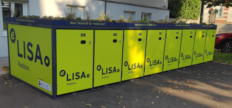 Radboxen am Bahnhof Wolkersdorf