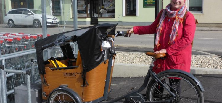 Testmöglichkeit für Lastenräder