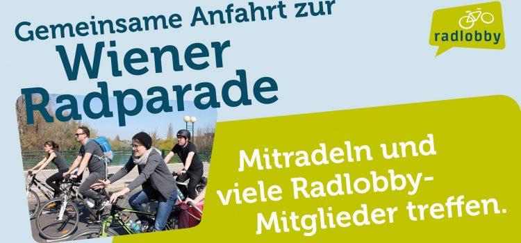 Gemeinsam ab Deutsch Wagram zur RADpaRADE 2020 in Wien