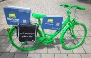 Das Radlobby Wolkersdorf Radl-Post Fahrrad ist auch 2021 wieder auf Tour