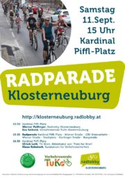 Radparade Klosterneuburg 2021