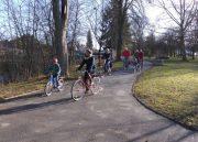 Schlosspark für Radfahrende geöffnet