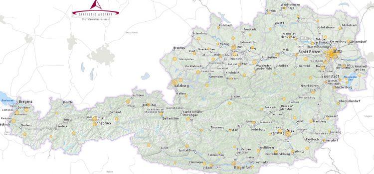 Verkehrsunfallkarte in den Gemeinden | Statistik Austria