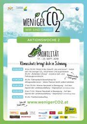 Weniger CO2 durch nachhaltige Mobilität