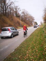 Wiener Straße – gefährliches Nadelöhr für das Radfahren in Melk