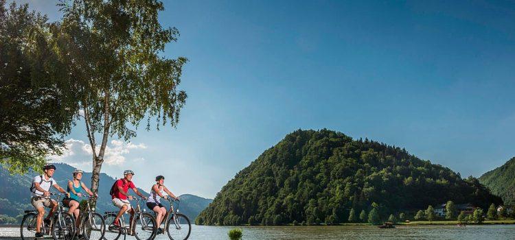 Baustellen- und Umleitungsinfos fürs Radfahren entlang der Donau <br>viadonau informiert!