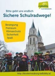 Sichere Schulradwege für Klosterneuburg