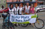 Radlobby Gmünd beim Verkehrswende-Aktionstag in Waidhofen/Thaya