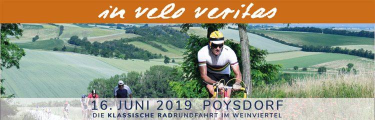 in velo veritas | Poysdorf · 15. und 16. Juni 2019