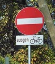 Schillerstraße – Beschilderung berichtigen