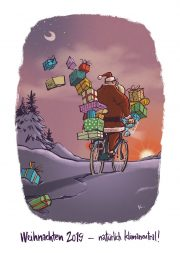 Krems_Radfahren erwärmt (Rückblick) und Frohe Feiertage!